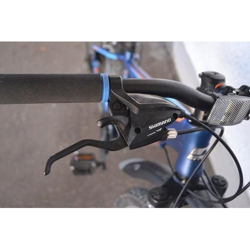 34 - Blue coloured CARRERO mountain bike...