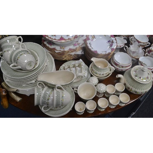 45 - MASONS tea, coffee and dinner service MADRIGAL design - over 60 pieces...