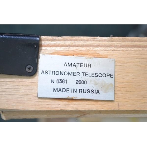 7 - Russian made telescope in original box(unused)...