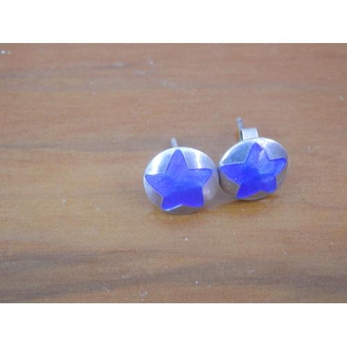 35B - Silver (925) designer earrings by RDG (Robinson Designer Goldsmith)...