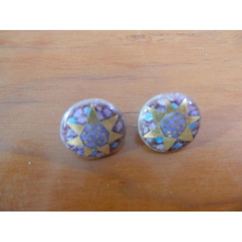 35C - Sheila McDonald silver(925) designer earrings...