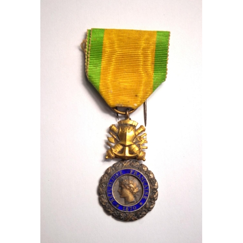 51 - French WWI Medaille Militaries...