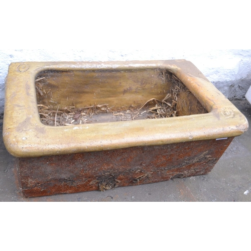 13 - An UNUSUAL Victorian agricultural trough made in Hurlford/KILMARNOCK Ayrshire...