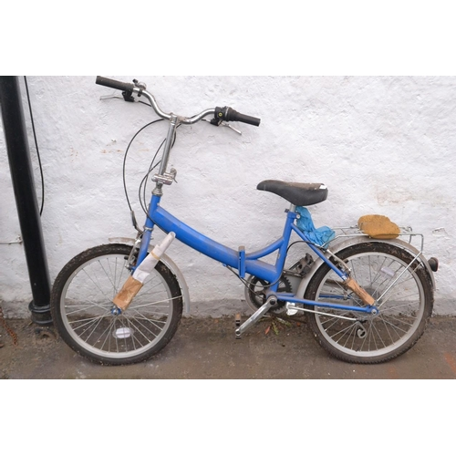 29R - RALEIGH foldable bike (never used still wrapped-up in places! since bought and came from an old dust...