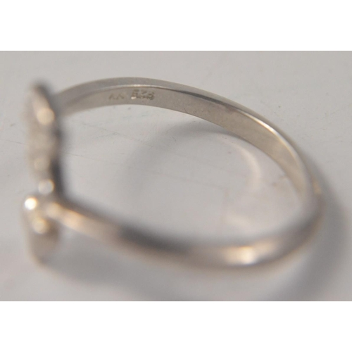 33 - Selection of 4 925 silver and 3 white metal rings. (2 with unreadable markings) to include mother of...