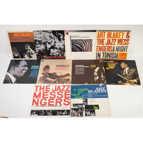 9 - JAZZ, VINYL RECORDS, B IS FOR ART BLAKEY AND THE JAZZ MESSENGERS-THE FREEDOM RIDER, Blue Note (BLP 4...