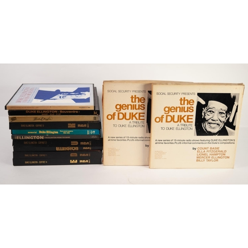57 - JAZZ, VINYL RECORDS- E IS FOR DUKE ELLINGTON- THE WORKS OF DUKE, complete series of 5 box sets relea...
