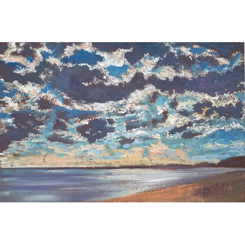 """324 - TIMMY MALLETT (b.1955) OIL ON BOARD'Evening Skies' Signed 8"""" x 12"""" (20.3cm x 30.5cm)C/R- image and f..."""