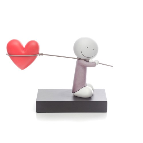 315 - DOUG HYDE (b.1972) LIMITED EDITION MIXED MEDIA SCULPTURE'Caught up in Love'(No.82/395, with certifi...