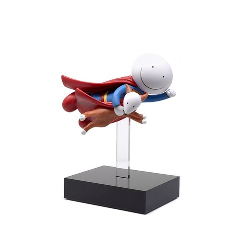 317 - DOUG HYDE (b.1972) LIMITED EDITION MIXED MEDIA SCULPTURE'Is it a Bird? Is it a Plane?',(No.26/395, ...