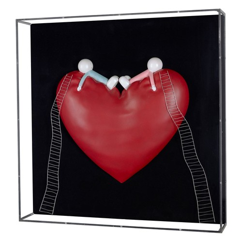 320 - DOUG HYDE (b.1972)LIMITED EDITION MIXED MEDIA SCULPTURE'High on Love' (No. 104/150, no certificate)2...