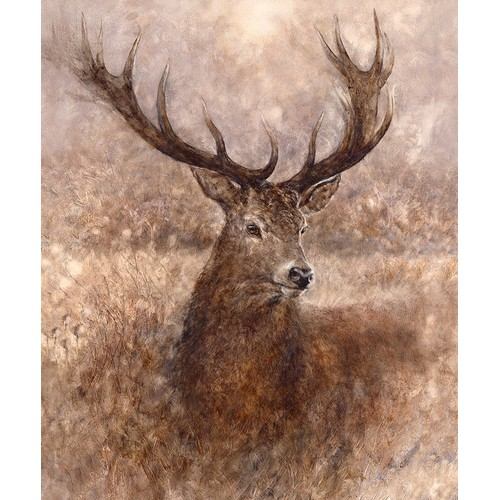 292 - GARY BENFIELD (b.1965) ARTIST SIGNED LIMITED EDITION COLOUR PRINT'Noble', (58/195), with certificate...