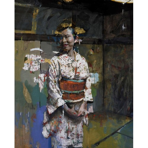 307 - CHRISTIAN HOOK (b.1971) ARTIST SIGNED LIMITED EDITION COLOUR PRINT'Chajin', (12/50), with certificat...