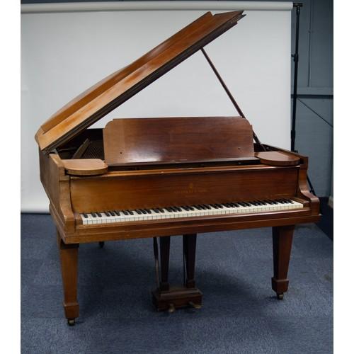 106 - LATE 19th CENTURY/EARLY 20th CENTURY STEINWAY BOUDOIR GRAND PIANOFORTE, No 3049/3, Serial No. 164145...