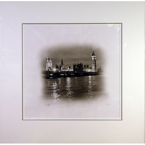 """291 - † DARREN BAKER (b.1976) ARTIST SIGNED PRINT FROM A PENCIL DRAWING'A View to Remember', (9/195) 13"""" x..."""