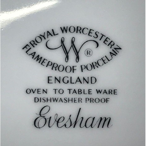 16 - CARTON WITH EVESHAM TABLEWARE