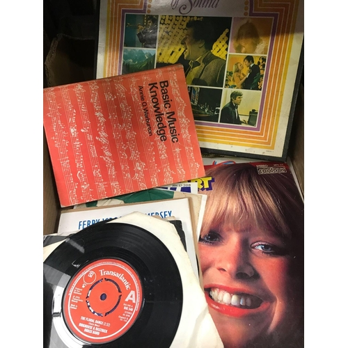20 - CARTON OF BOXED & LOOSE LP'S OF EASY LISTENING