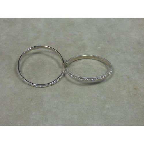 93 - Pair of Large Siver earrings...