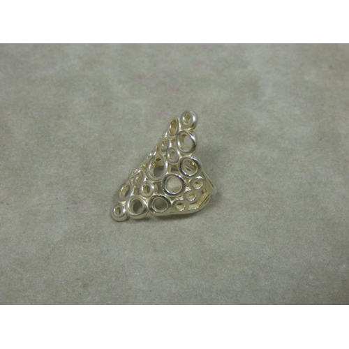 96 - Hallmarked Silver Ring...
