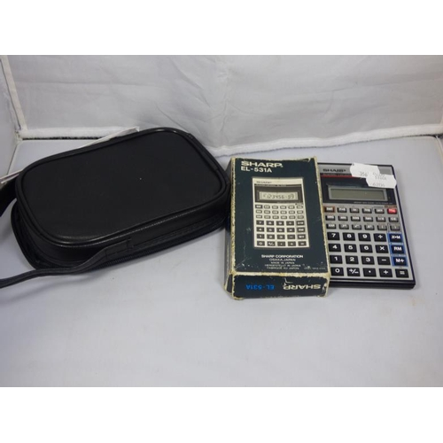 120 - Vintage Sharpe Calculator...