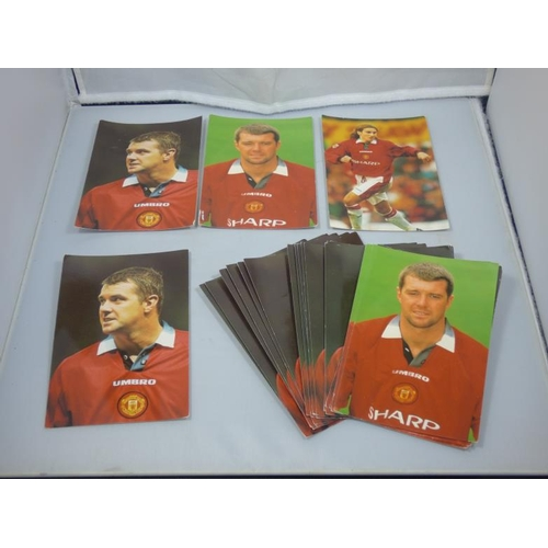 144 - Twenty Two Manchester Utd Photographs of Gary Pallisterplus selection of more Manchester United them...