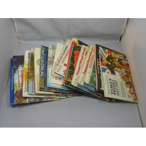 11 - Collection of Seventeen Brooke Bond Picture Cards and Albums...