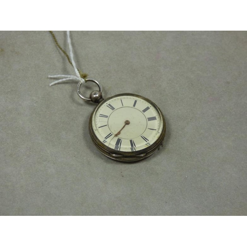 110 - Waltham Mass Pocket Watch with Silver Case (1877-1878)...