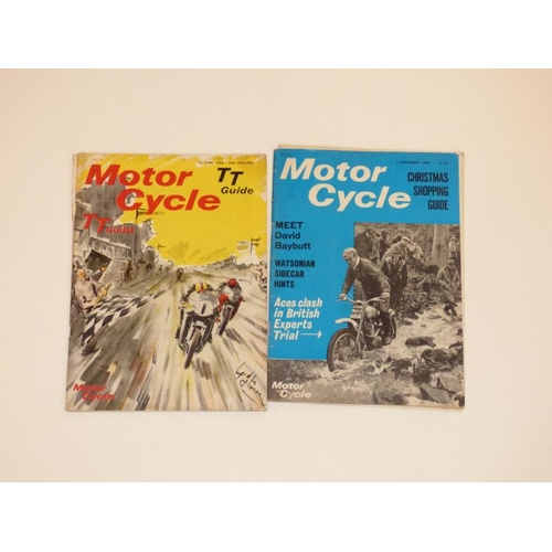 149 - Approximately 30 vintage Motor Cycle magazines dating from 1930's to mid 1960's...