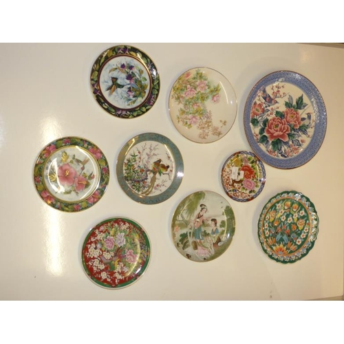 161 - Collection of Oriental plates...