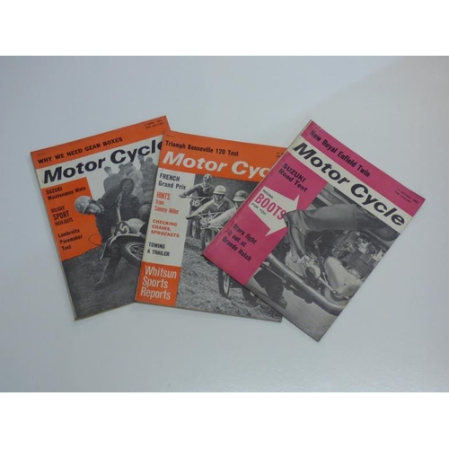 166 - Approximately 30 vintage Motor Cycle magazines dating from 1935 to 1964...