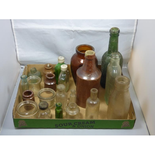 173 - Antique bottle selection...