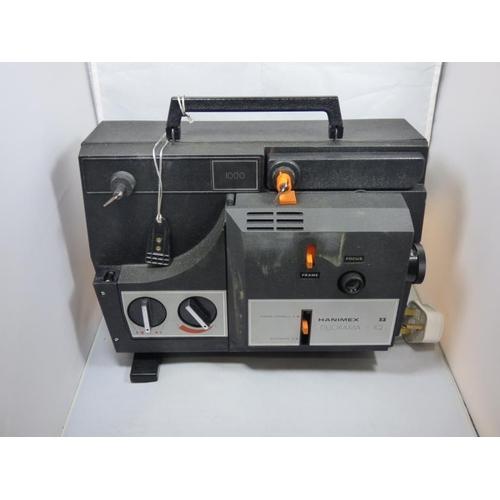176 - Hanimex Duorama 8mm Dual Format Movie Projector in Original Box...