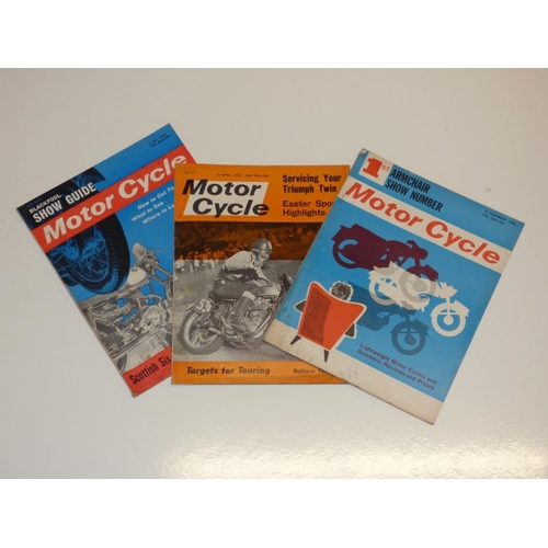 178 - Approximately 30 vintage Motor Cycle magazines dating from 1935 to 1964...