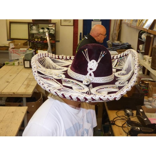 179 - Authentic Original Sombrero...