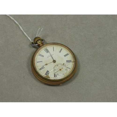 18 - AM Watch Company Pocket Watch with Waltham Movement circa 1899...