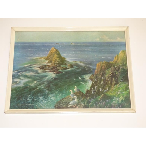 186 - Vernon Ward framed and glazed colour print...