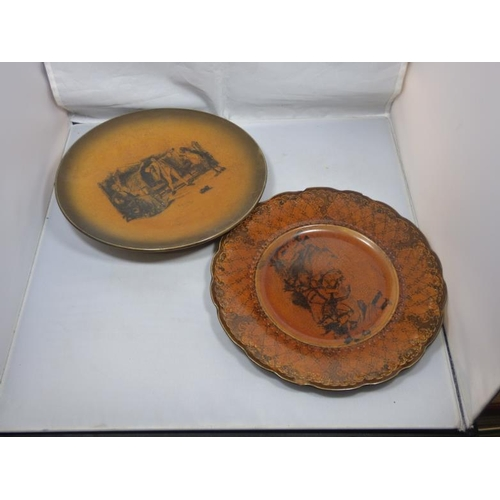 189 - Two Ridgeways plates...