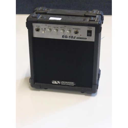 410 - Acoustic Solutions Guitar amplifier...