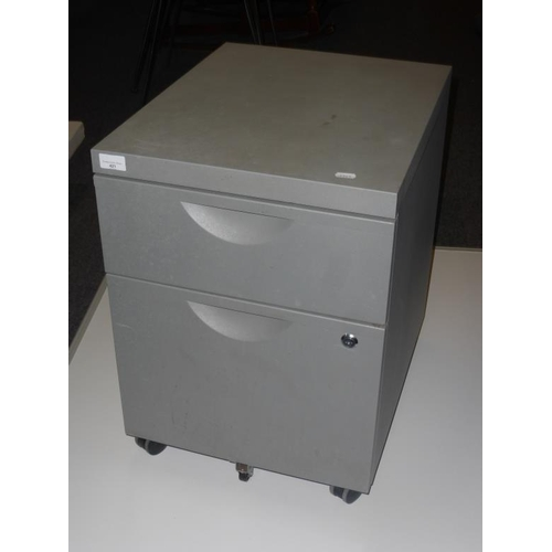 421 - Two drawer filing cabinet...