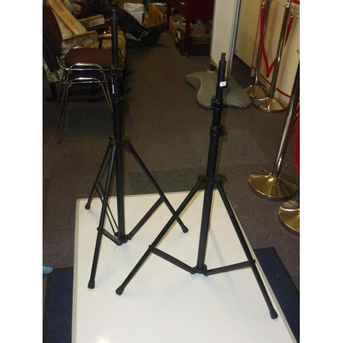 423 - Pair of speaker stands...