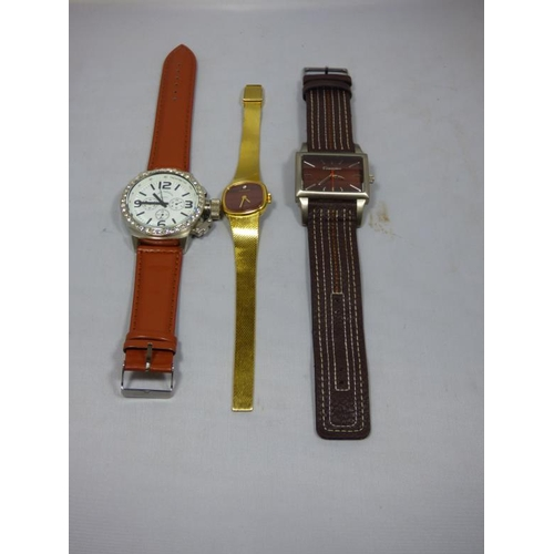 43 - Three Watches to include one marked Louis Valentin...
