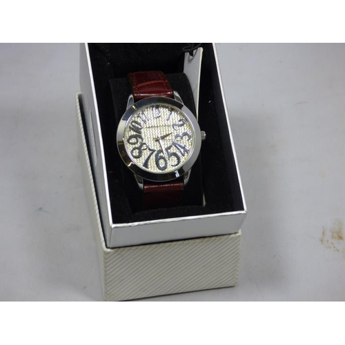46 - Red Herring watch in presentation box...