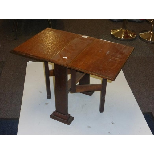 491 - Small drop leaf table...