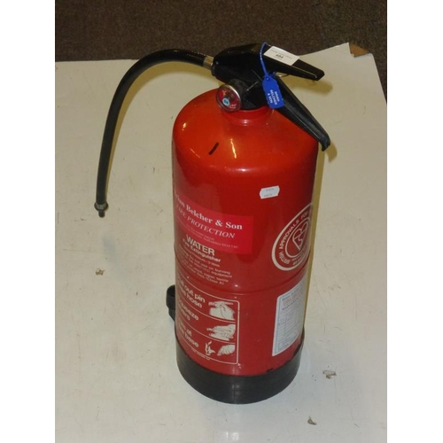 494 - Fire extinguisher...