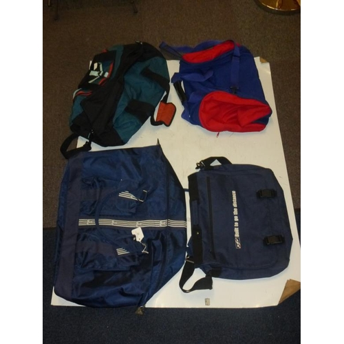505 - Collection of 4 bags...