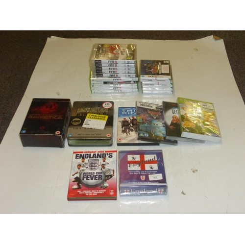 517 - Collection of various games and DVD's...