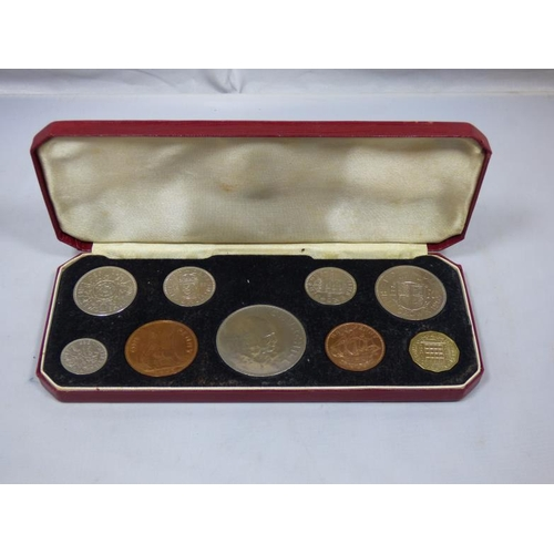 54 - Elizabeth II 1965 Coin collection...