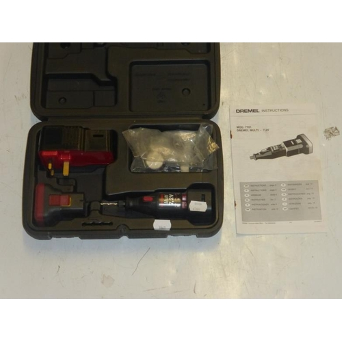 549 - Dremel multi drill and accessories in box...