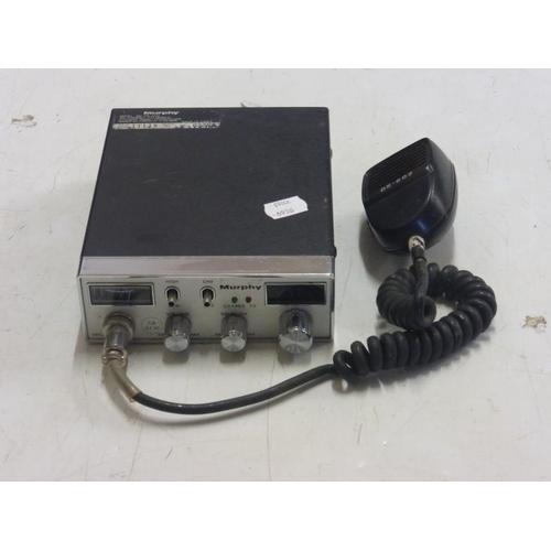 552 - Murphy DS602 40 Channel UK FM CB Radio Ham CB 27/81 Citizen Band Receiver...