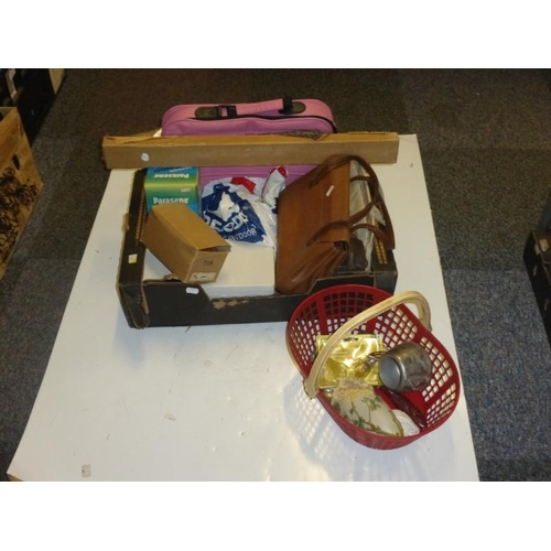 579 - Mixed lot includes laptop bag, handbags and other...